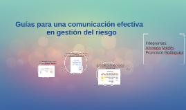 Guías para una comunicación efectiva