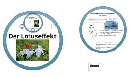 Copy of Der Lotuseffekt
