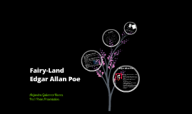 Poetry Presentation: Fairy-Land