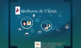 Sindrome de X Fragil.