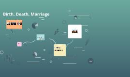 Birth, Death, Marriage