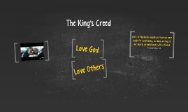 The King's Creed