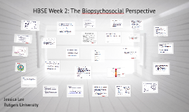 HBSE Week 2: The Biopsychosocial Perspective
