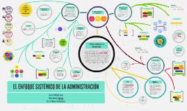 EL ENFOQUE SISTÉMICO DE LA ADMINISTRACIÓN