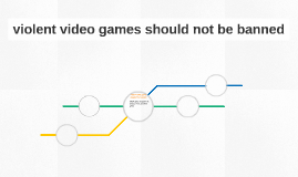 violent video games should not be banned Violent video games should be banned it is the fact that violent video games is now increasing in popularity and number, it is also the fact that there is.