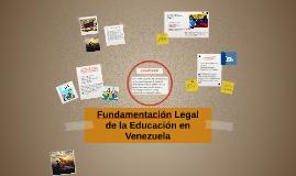 Mapa Mental Educación en Venezuela.