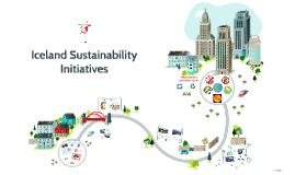 Iceland Sustainibility Initiatives