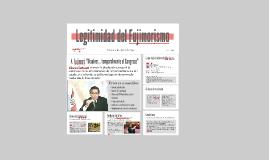 Legitimidad en el Gobierno de Fujimori