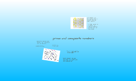 Copy of Copy of prime and composite numbers