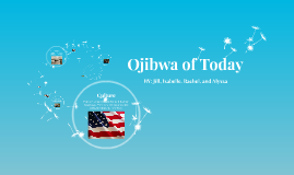 Ojibwa of Today