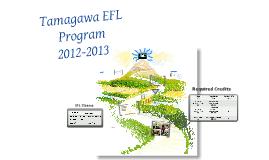 EFL PROGRAM ORIENTATION