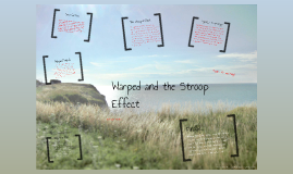 "warped word and stroop effect Test a perceptual phenomenon - stroop effect george liu october 16, 2015 background information  as per wikipedia, ""warped words"" is a similiar situation a ."