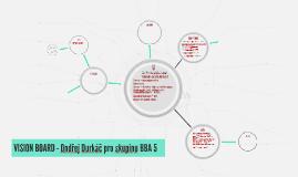 VISION BOARD - Ondřej Durkáč pro skupinu BBA 5
