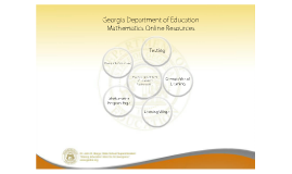 GaDOE Mathematics Resources 11/11/11