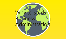 Business Administration Career