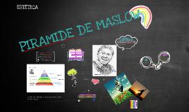 Copy of PIRAMIDE DE MASLOW