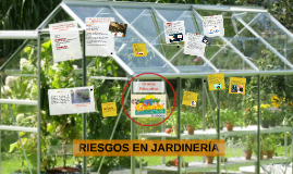 RIESGOS EN JARDINERÍA