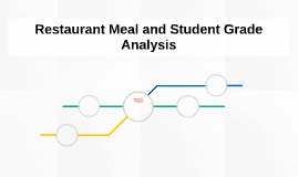 Restaurant Meal and Student Grade Analysis