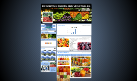 EXPORTING FRUITS AND VEGETABLES