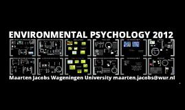 Environmental Psychology 2012