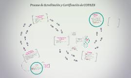 Proceso de Acreditación y Certificación de COPAES