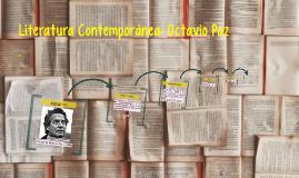 Literatura Contemporánea: Octavio Paz