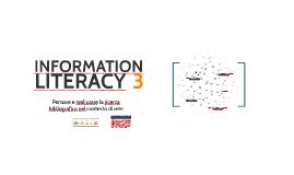 Riepilogo Laboratorio di information literacy 3 - Cercare e produrre informazione scientifica