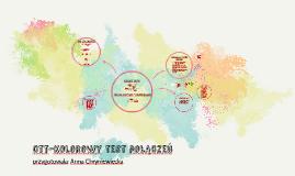 Copy of Kolorowy test połączeń ctt