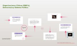 Organizaciones Cívicas (ONG's), Democracia y Sistema Polític