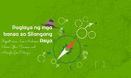 Paglaya ng mga bansa sa Silangang Asya