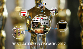 BEST ACTRESS OSCARS 2017