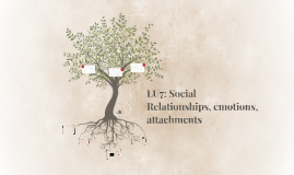 LU7: Social Relationships, emotions, attachments