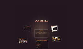 Copy of LAMBRINES