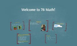 Welcome to 7B Math!