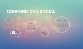 CONFORMIDAD SOCIAL