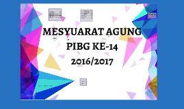 MESYUARAT AGUNG PIBG KE-14
