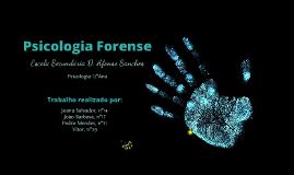 Psicologia Forense - Psicologia 12ºAno