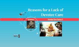 Devotee Care Course 2 - Lesson 05