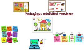 Copy of Pedagógus minősítési rendszer