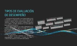 Copy of TIPOS DE EVALUACIÓN DE DESEMPEÑO