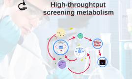 Hight-throughtput screening