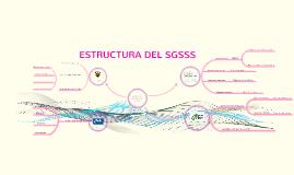 ESTRUCTURA DEL SGSSS