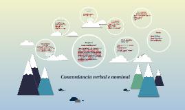 Copy of Concordancia verbal e nominal