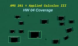AMS 261 (HW 04 Coverage)