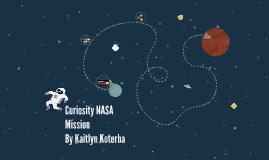 Curiosity NASA Mission