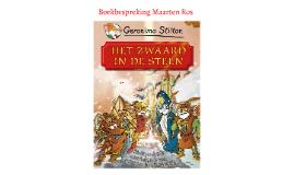Boekbespreking Maarten Ros
