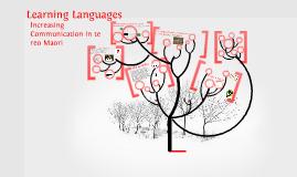 Copy of Increasing communication in te reo Maori