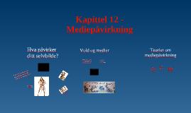Kapittel 12 - Mediepåvirkning