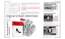 Digital Urban Identity by Katalin Fehér