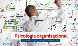 Psicología organizaciónal en el diseño de estrategias operat